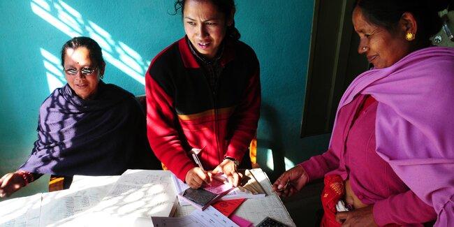IDEX visit to WACN, Nepal