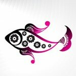 floral design fish